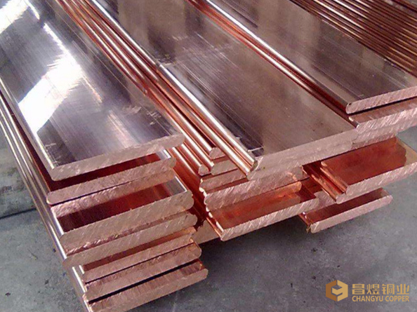 High Conductivity Copper Busbar